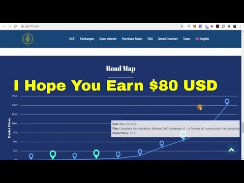 I Hope You Earn $150 USD | DEC777 ~ The Most Transparent Decentralized Crypto Exchange