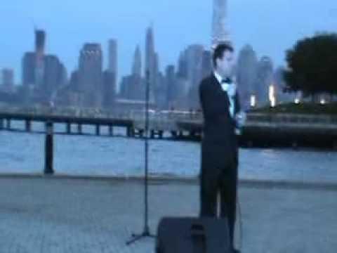 Roy Mezzapelle - Angel Eyes - Sinatra Park, Hoboken, NJ