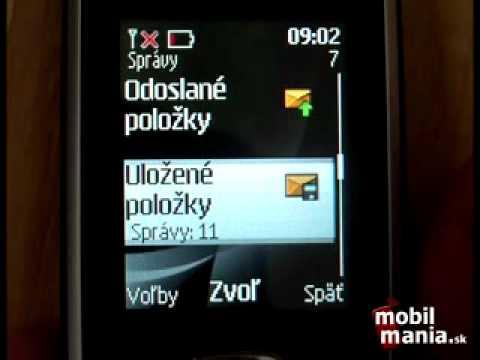 Nokia 2330 classic menu