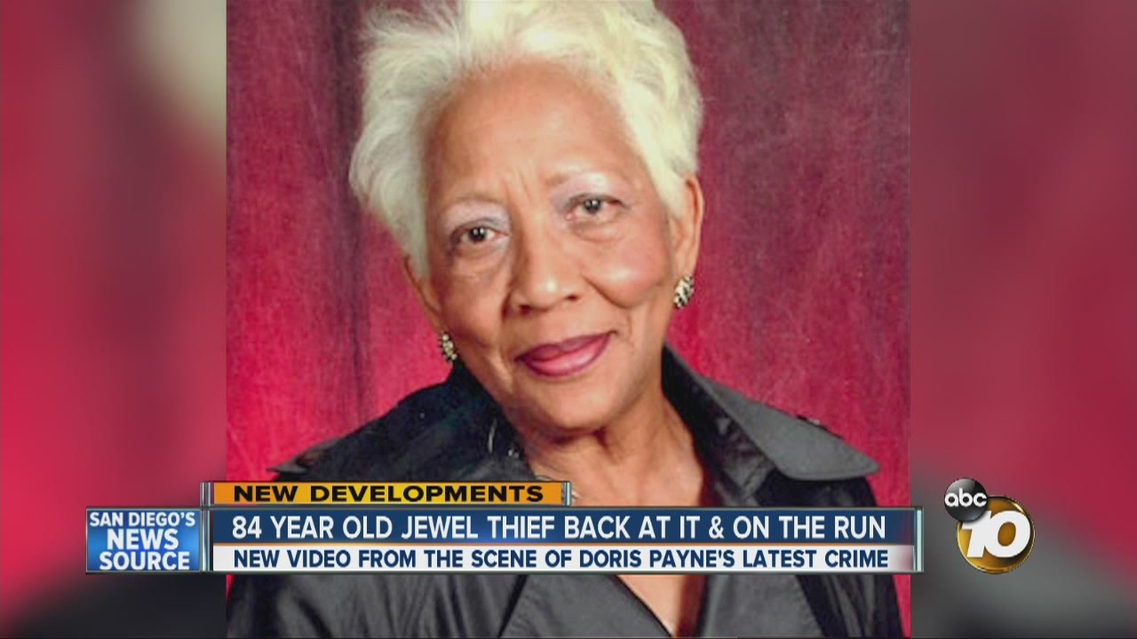 84-year-old jewel thief back at it and on the run - YouTube