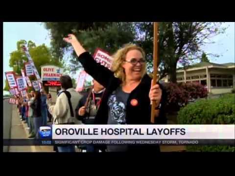 Oroville Hospital Layoffs