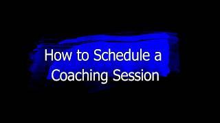 Coaching Scheduling