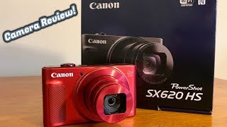 Canon PowerShot SX620 HS Review + Video Test