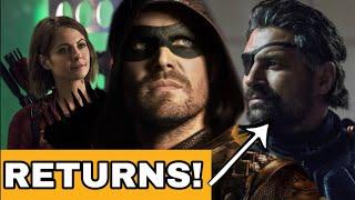 Arrow Season 8 DEATHSTROKE & THEA RETURN! Crisis On Infinite Earths TEASER!
