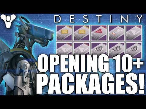Destiny: Opening 10+ Postmaster Packages! The Hunt For House Of Wolves Loot!