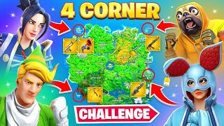 The *MYTHIC* 4 Corner Challenge!
