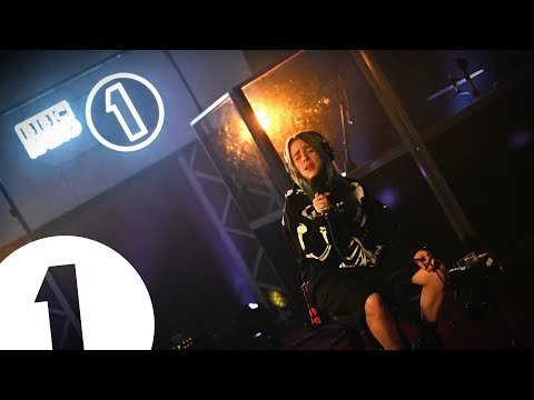 Billie Eilish - bury a friend on Radio 1