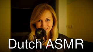 Nederlandse ASMR Dutch ASMR Whispers Slow Tapping