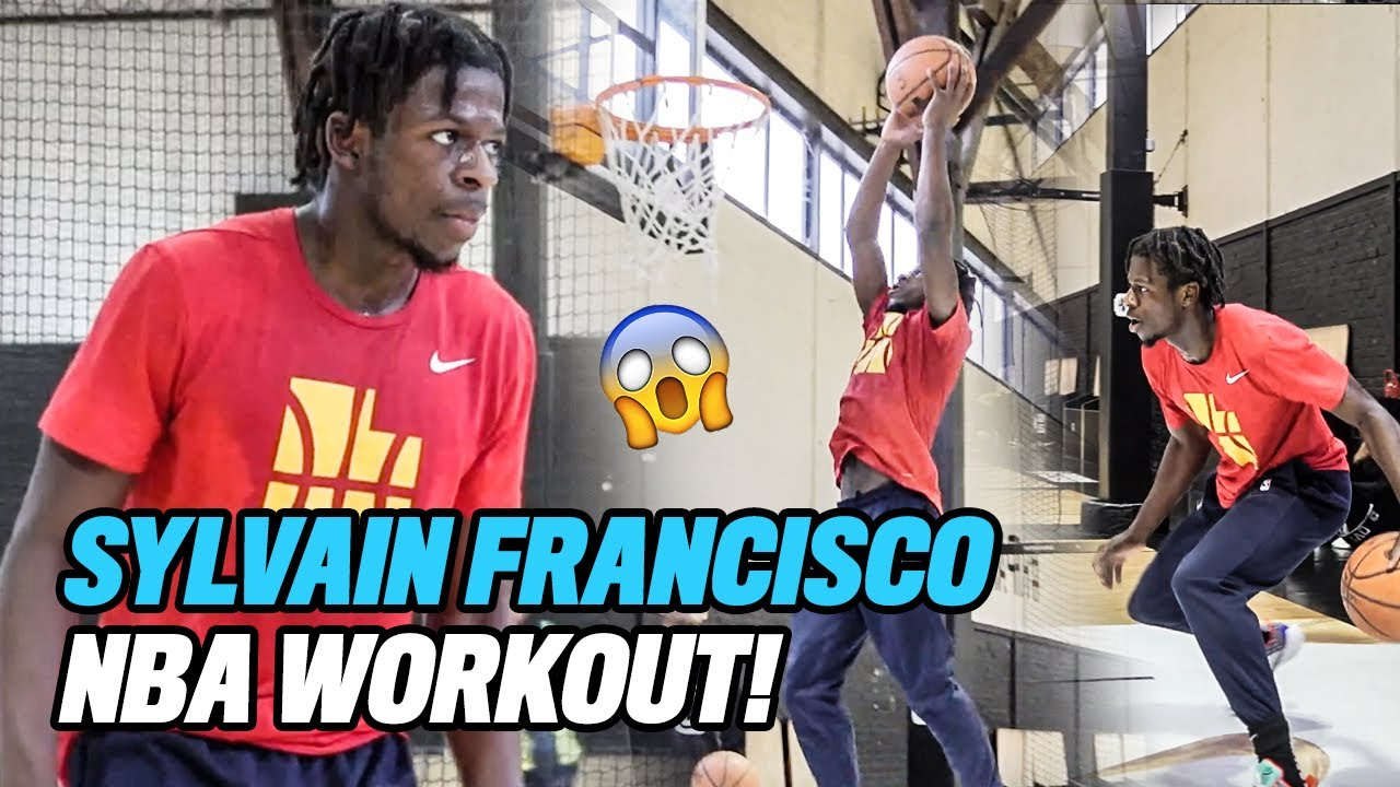 Sylvain Francisco OFFICIAL NBA Workout With Irv Roland! How The Arrow REALLY Trains In Paris 😱