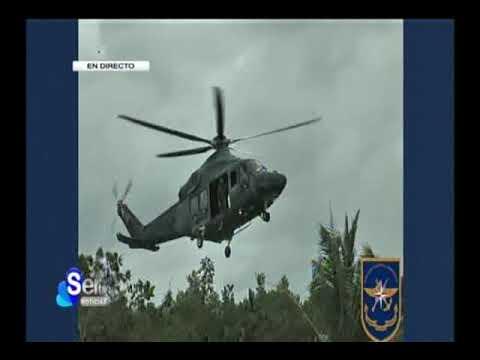 Sertv Presidente Juan Carlos Varela, Acto de recibimiento de 2 helicópteros