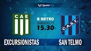 Excursionistas vs San Telmo full match