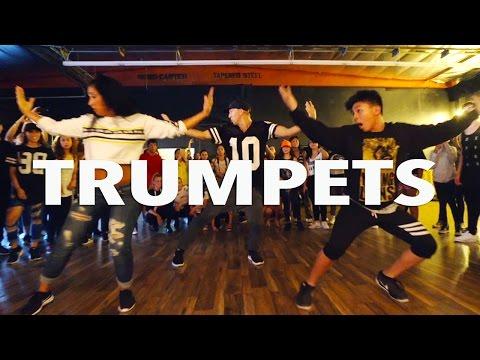 TRUMPETS - Sak Noel & Salvi ft Sean Paul | @MattSteffanina Choreography #TrumpetsChallenge