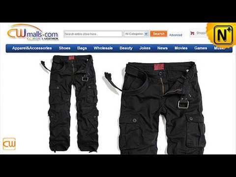Black Hiking Cargo Work Pants for Men CW100017 www.cwmalls.com ...