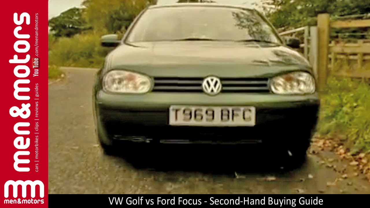 VW Golf vs Ford Focus  SecondHand Buying Guide  YouTube