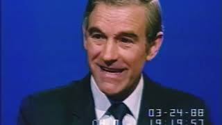 (03-24-1988) Ron Paul Campaign Interview on C-Span