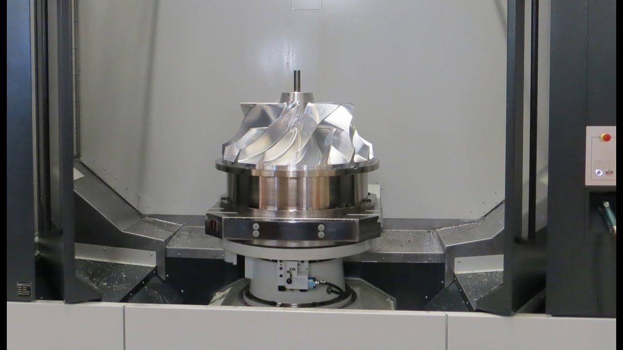Efficient Impeller Machining On Five Axis Starrag Stc 800