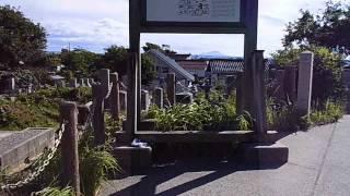 出雲阿国のお墓に行きました。