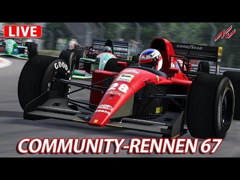 Community-Rennen #67 - LIVE | Assetto Corsa [HD] Ferrari 643 & Jordan 191 @ Brands Hatch