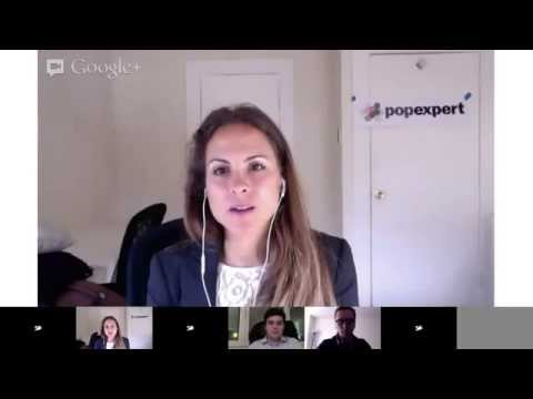 Google Hangout with Ingrid Sanders - LeWeb London 2013