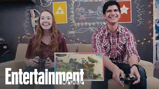 q play the americans star holly taylor plays super smash bros entertainment weekly