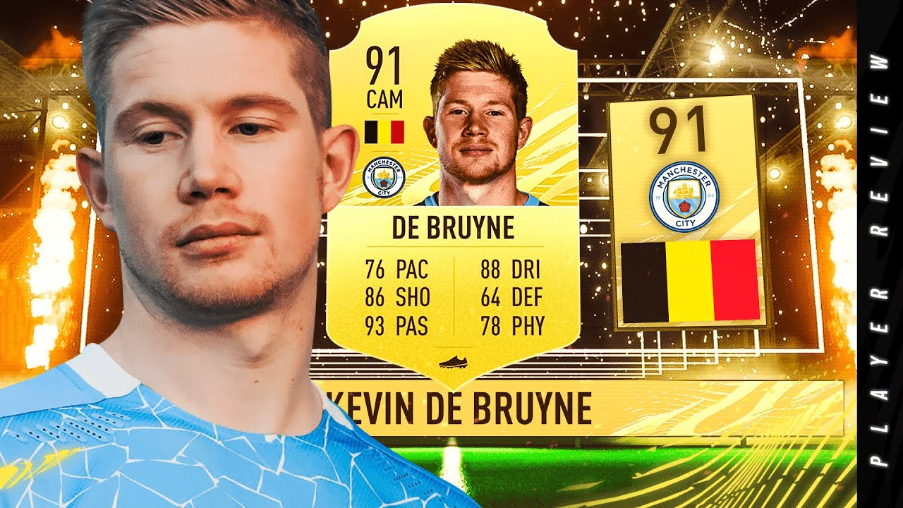 FIFA 21 INSANE 91 KEVIN DE BRUYNE PLAYER REVIEW   FIFA 21 ULTIMATE TEAM