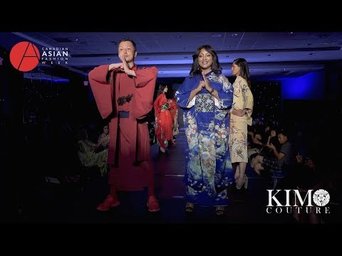 Highlight of KIMO COUTURE Runway at CAFW(Canadian Asian Fashion Week )