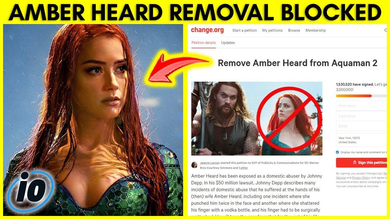 Aquaman 2 Won't Remove Amber Heard, Disney Exposes Scarlett Johansson, Blackpink Gets Cancelled
