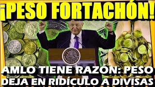 🔴 INAUDITO ¡ EL PESO LA ESTA ROMPIENDO A NIVEL MUNDIAL ! AMLO TIENE RAZON - ESTADISTICA POLITICA