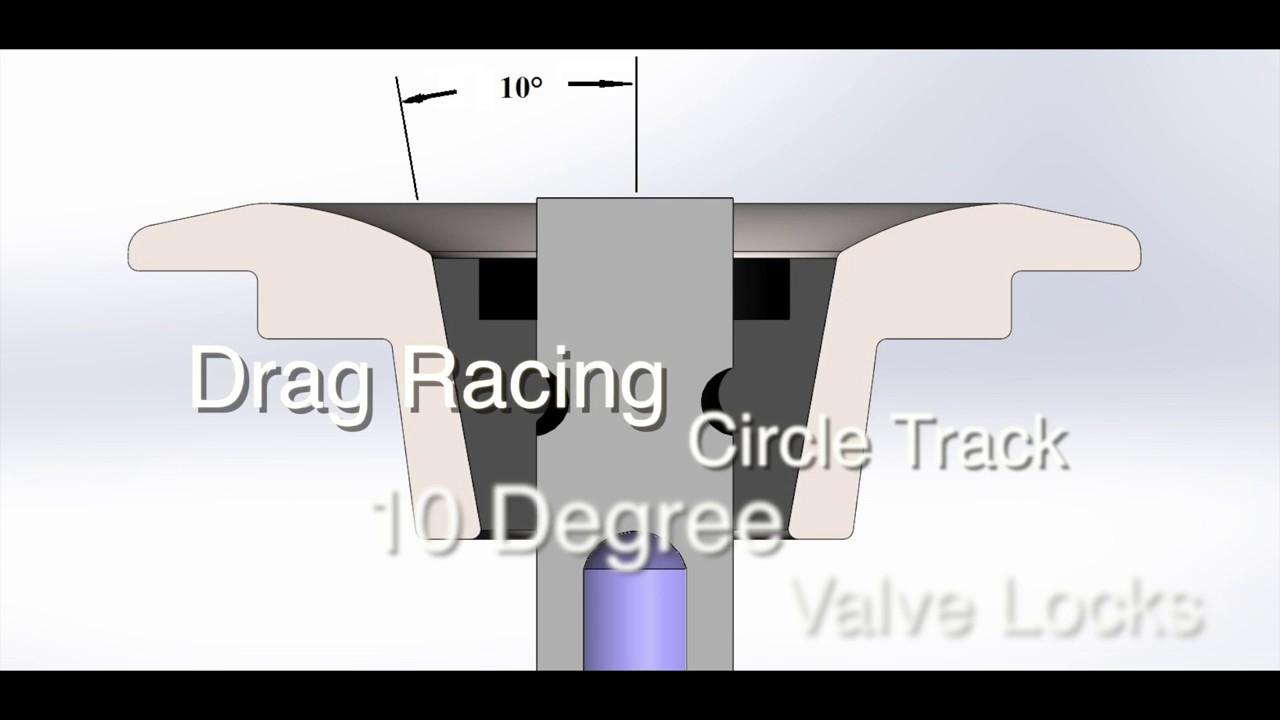 Manley 13196-16 Valve Spring Lock