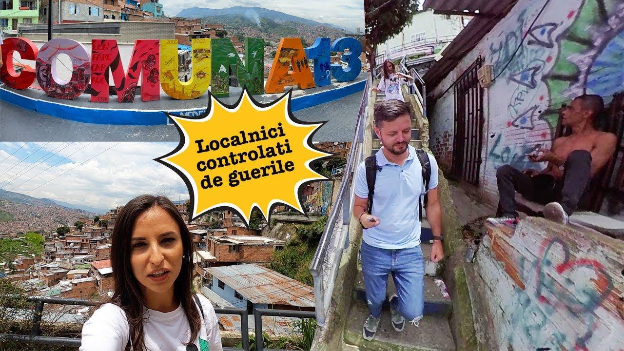 Cel mai PERICULOS cartier din lume! La pas prin favela | COMUNA 13
