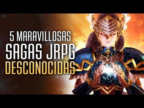 5 Maravillosas Sagas de juegos JRPG Desconocidas