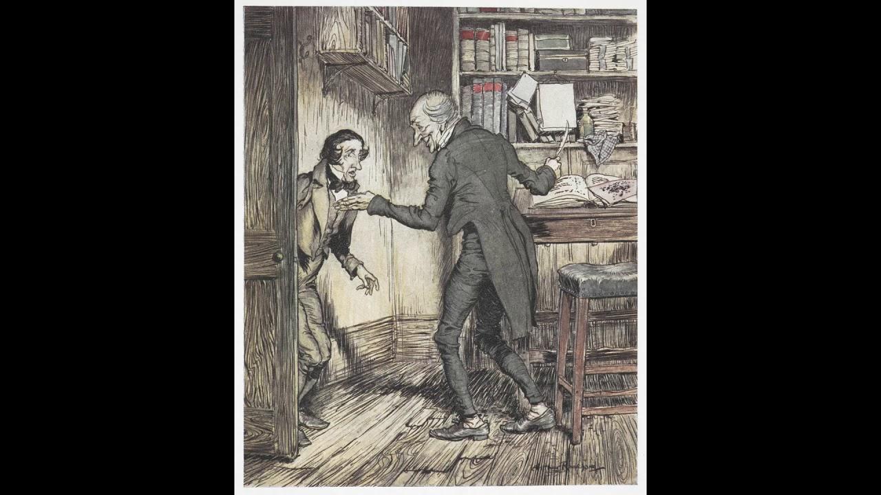 Adventskalender mit Büchern | # 24 | Weihnachtslied von Charles Dickens | Richard Zoozmann - YouTube