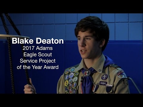 Blake Deaton, 2017 Eagle Scout Project of the Year