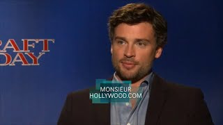 Tom Welling, Josh Pence, Exclusive Interview, Draft Day, Smallville