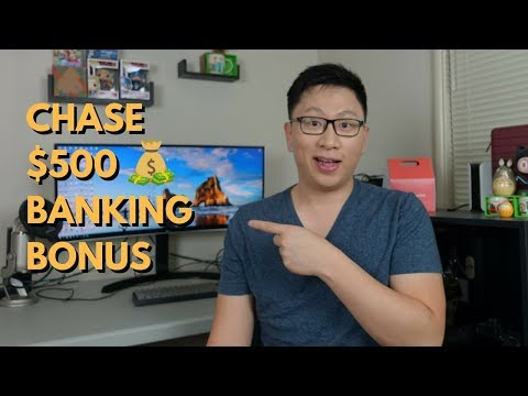 Chase $500 Banking Bonus ($300 Checking + $200 Savings