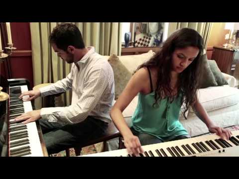 Baroque and Blue   Claude Bolling   Cover by Paulina and Adrian Campero