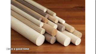 Hardwood dowel