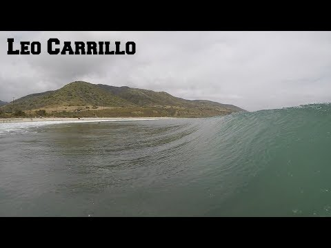 Surfing Leo Carrillo  June 10th