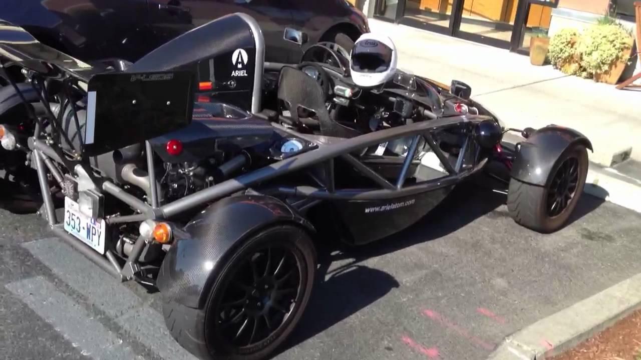 Carbon fiber custom street legal race car - YouTube