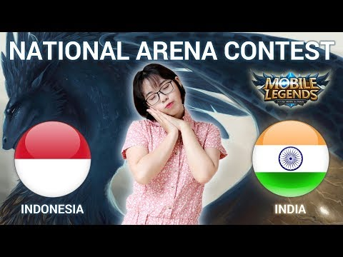 INDONESIA VS INDIA - National Arena Contest Cast by Kimi Hime - 14/03/2018