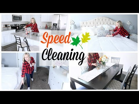 POWER HOUR| SPEED CLEAN WITH ME| STAY AT HOME MOM