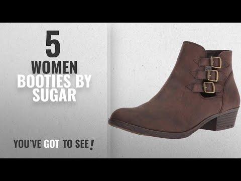f2fb40b163dc6 Top 10 Sugar Women Booties [2018]: Sugar Women's Tikki Ankle Bootie ...