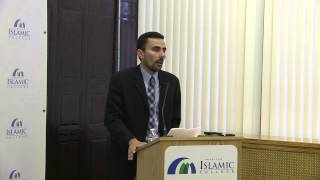 """Islamic Education Between Madrasa and University"" - Ahmed El Shamsy Lecture 9-5-13"