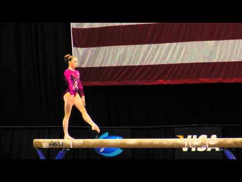 McKayla Maroney -- Balance Beam -- 2012 Visa Championships -- Sr. Women -- Day 1