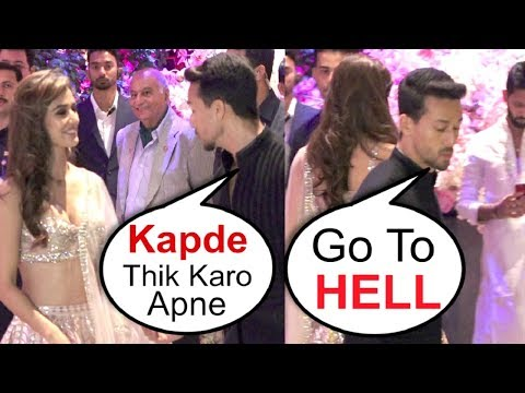 Disha Patani FIGHT With Tiger Shroff And Walks Off At Akash Ambani Engagement Party thumbnail
