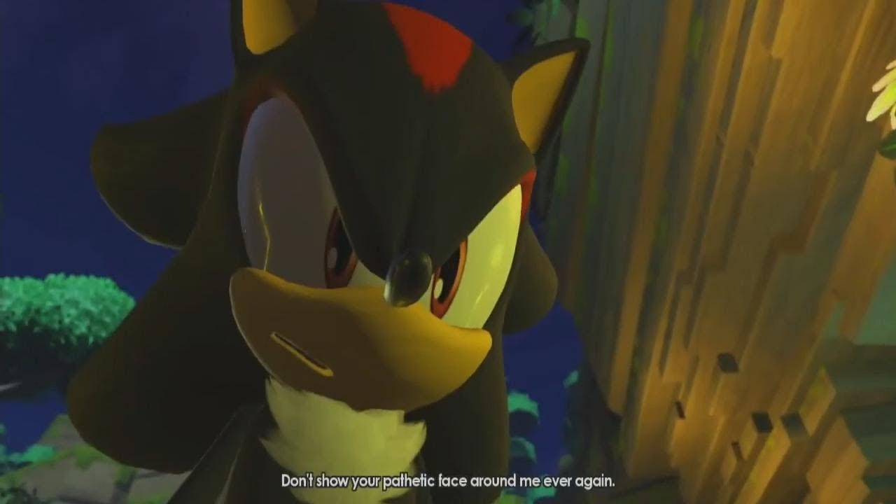 Sonic Forces Episode Shadow Cutscene Infinite Face Revealed Youtube