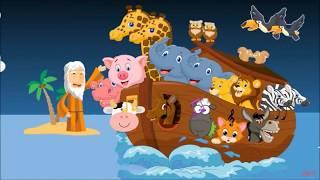 EL ARCA DE NOÉ, teatro infantil - Cuentos infantiles con valores