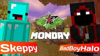 BADBOYHALO AND I WON MINECRAFT MONDAY!!!! LMAOOOOOO