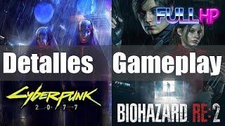 Detalles sobre Cyberpunk, ¿cómo será? GAMEPLAY de Resident Evil 2  - Full HP 22