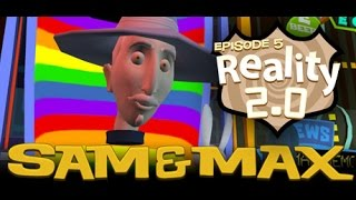 Sam & Max Save The World Longplay Episode 5: Reality 2.0 [X360]
